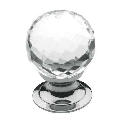 1-3/16 in. Polished Chrome Round Cabinet Knob