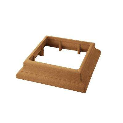 Vantage 5-1/2 in. x 5-1/2 in. Rustic Cedar Composite Beveled Post Trim Collar