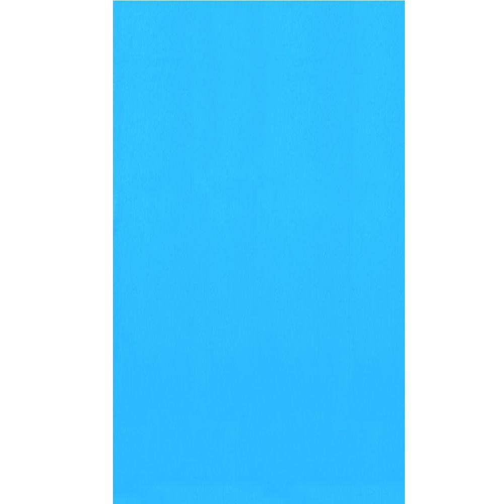 Swimline Blue 21 ft. x 41 ft. Oval Overlap Pool Liner 48/52 in. Deep