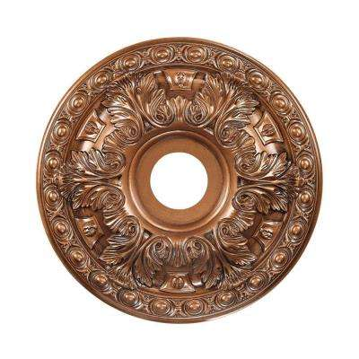 Titan Lighting 18 in. Antique Bronze Ceiling Medallion