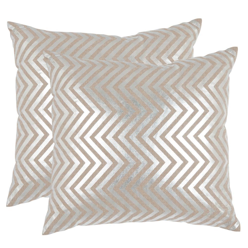 Elle Metallics Pillow (2-Pack)
