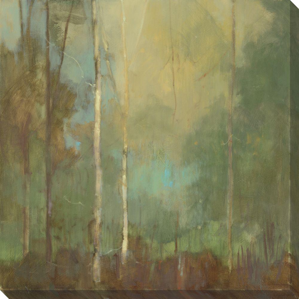 NEP Art 40 in. x 40 in. Upon Reflection I Oversized Canvas Gallery Wrap
