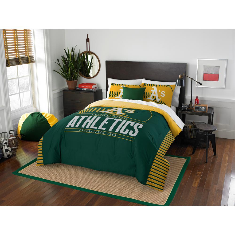 Athletics 3-Piece GrandSlam Multi Full and Queen Comforter Set