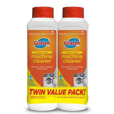 Glisten 12 oz. Washer Magic Cleaner and Deodorizer Washing Machine Cleaner (2-Pack)