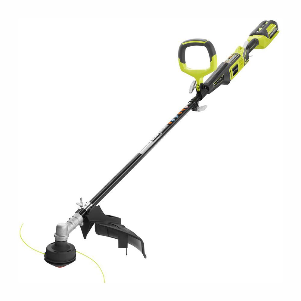 RYOBI Reconditioned 40-Volt X Lithium-Ion Attachment Capable Cordless String Trimmer - 2.6 Ah Battery and Charger Included