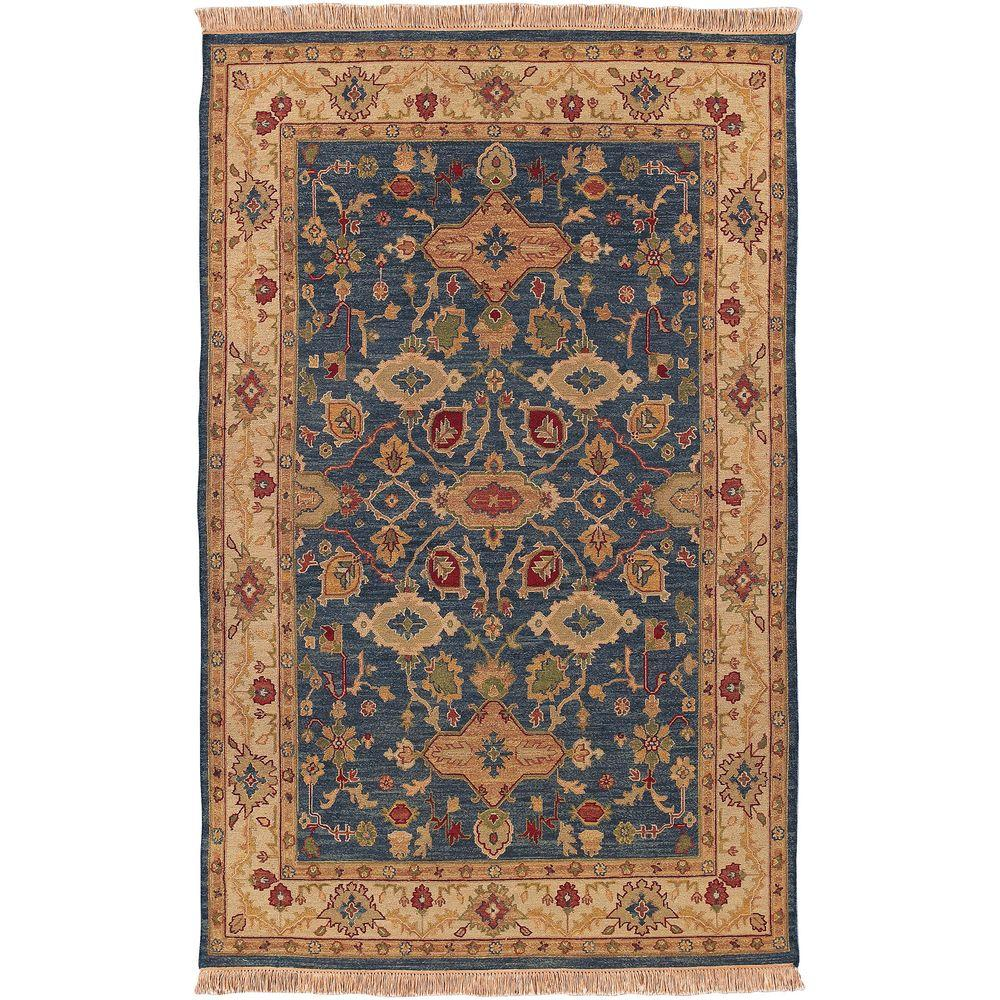 Rochester Blue 6 ft. x 9 ft. Area Rug