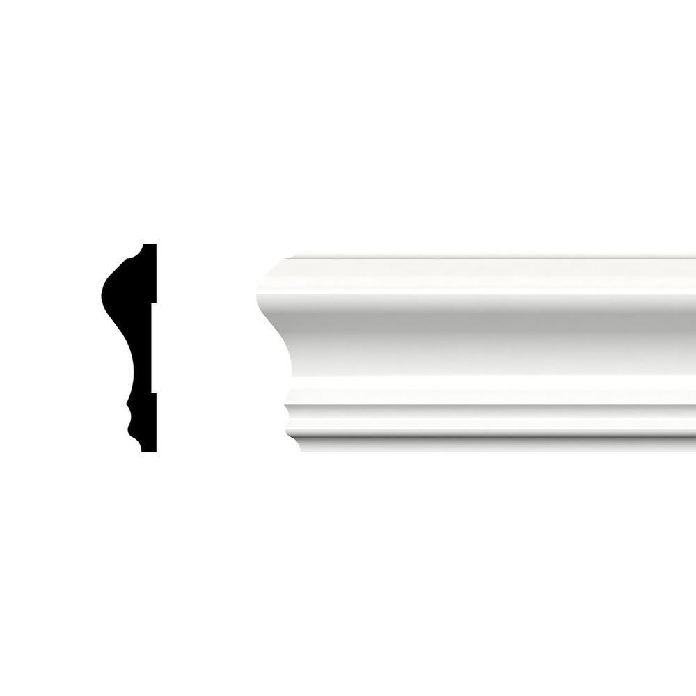 2-5/8 in. x 3/4 in. x 96 in. Chair Rail Moulding, PVC