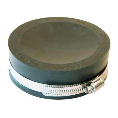 4 in. Plastic DWV Flexible Cap