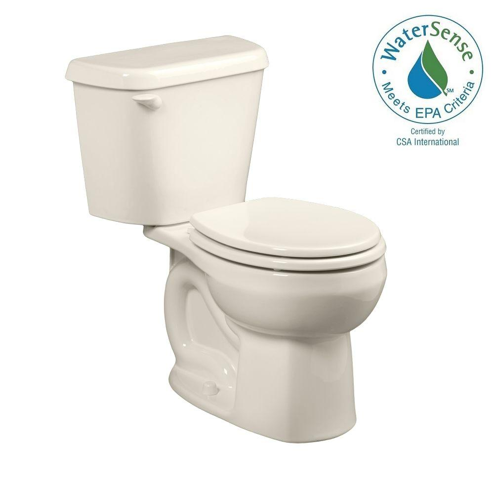 Colony 2-piece 1.28 GPF Round Toilet in Linen