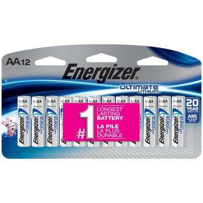 AA Lithium Battery (12-Pack)