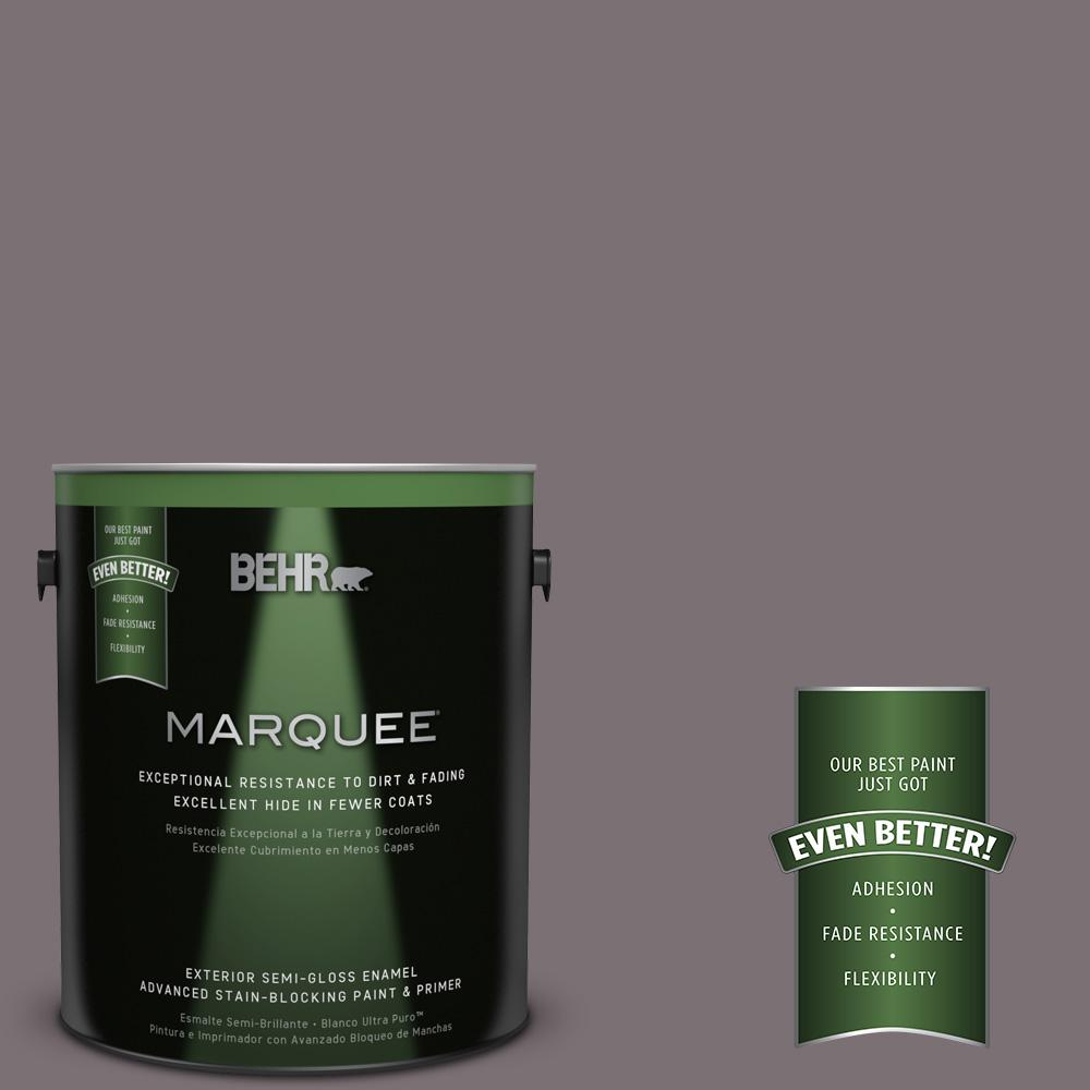 BEHR MARQUEE Home Decorators Collection 1-gal. #HDC-AC-27 Heather Sachet Semi-Gloss Enamel Exterior Paint