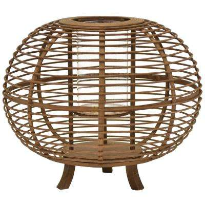 13.5 in. Decorative Bamboo Lantern