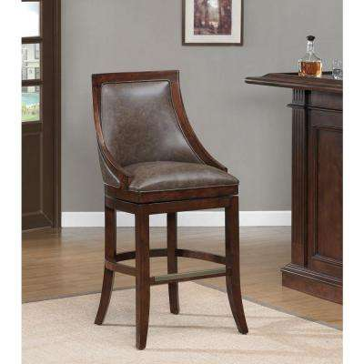 Galileo 30 in. Navajo Cushioned Bar Stool