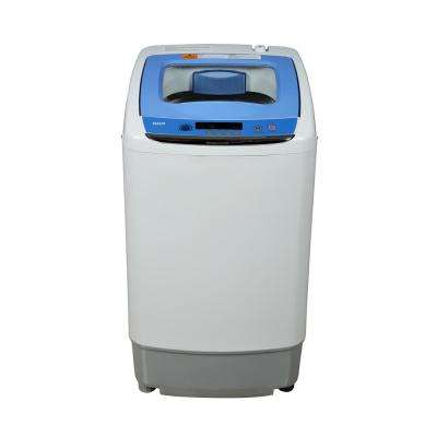 0.9 cu. ft. High-Efficiency Portable Top Load Washer in White