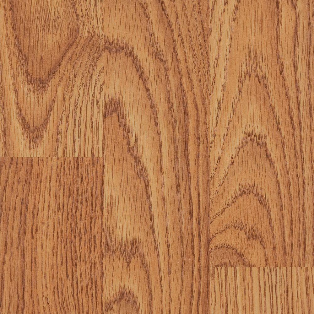 TrafficMASTER Draya Oak 10 mm Thick x 7-9/16 in. Wide x 50-5/8 in. Length Laminate Flooring (21.30 sq. ft. /case)