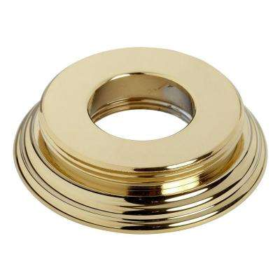 Under Base Escutcheon for Williamsburg Lavatory Faucet, Polished Brass