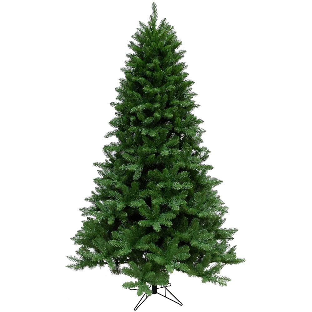 Christmas Time 7.5 ft. Greenland Pine Artificial Christmas Tree-CT ...
