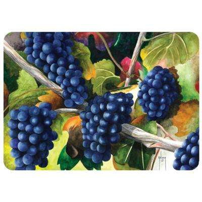 Autumn Fruit 22 in. x 31 in. Polyester Surface Mat
