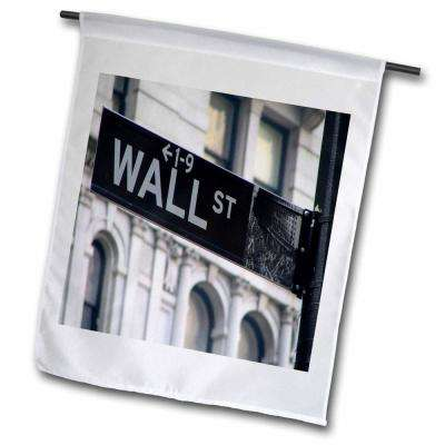Signs 1 ft. x 1-1/2 ft. Wall Street Flag