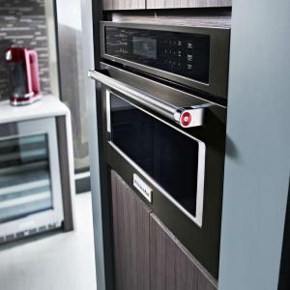 2 Kitchenaid 1 4 Cu Ft Built In Convection Microwave