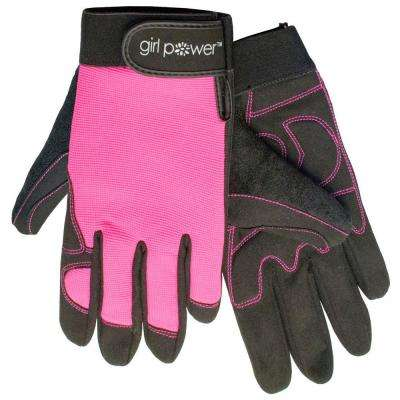 MGP100 Pink Women's Mechanics Gloves