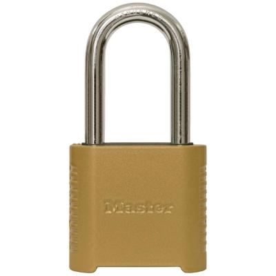 875DLH 2 in. Wide Zinc Set Your Own Combination Padlock with 2 in. Extra Long Shackle