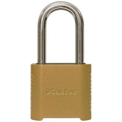 ec90585d08b6 875DLH 2 in. Wide Zinc Set Your Own Combination Padlock with 2 in. Extra  Long Shackle