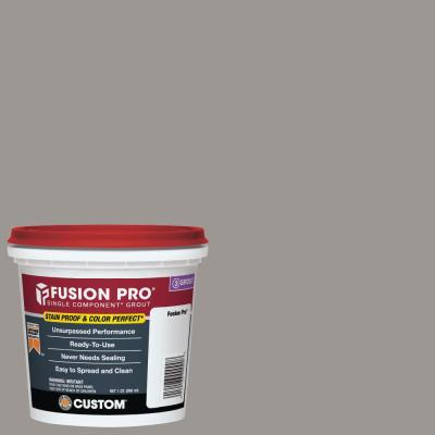 Fusion Pro #165 Delorean Gray 1 Qt. Single Component Grout