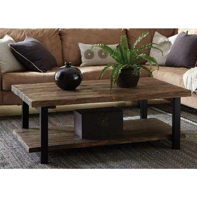 Pomona Rustic Natural Coffee Table