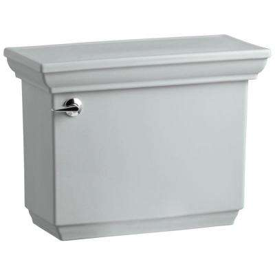 Memoirs 1.6 GPF Single Flush Toilet Tank Only in Ice Grey