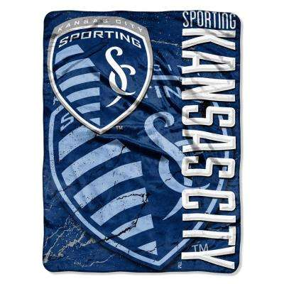 Sporting KC Concrete Multi-Color Polyester Micro Raschel