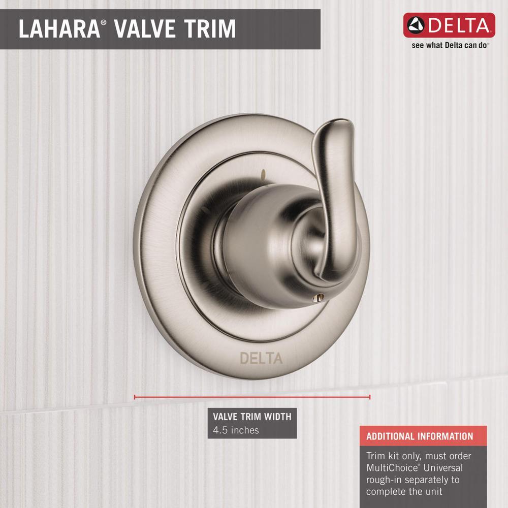 Venetian Bronze Delta T11894-RB Linden 3 Setting Diverter Trim