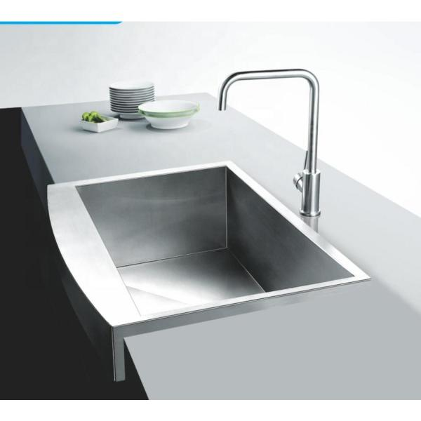 Casainc Stainless Steel Drop In 32 In 1 Hole 32 19 Single Bowl Handmade Kitchen Sink Without Faucet Hs3219 The Home Depot