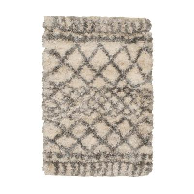 Caspian Cream 2 ft. x 3 ft. Moroccan Scatter Area Rug