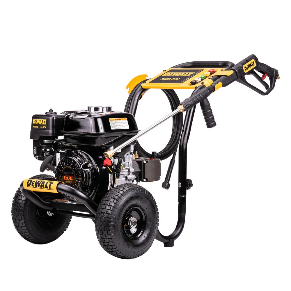 3600 PSI at 2.5 GPM HONDA GX200 with AAA Triplex Pump Cold Water Professional Gas Pressure Washer