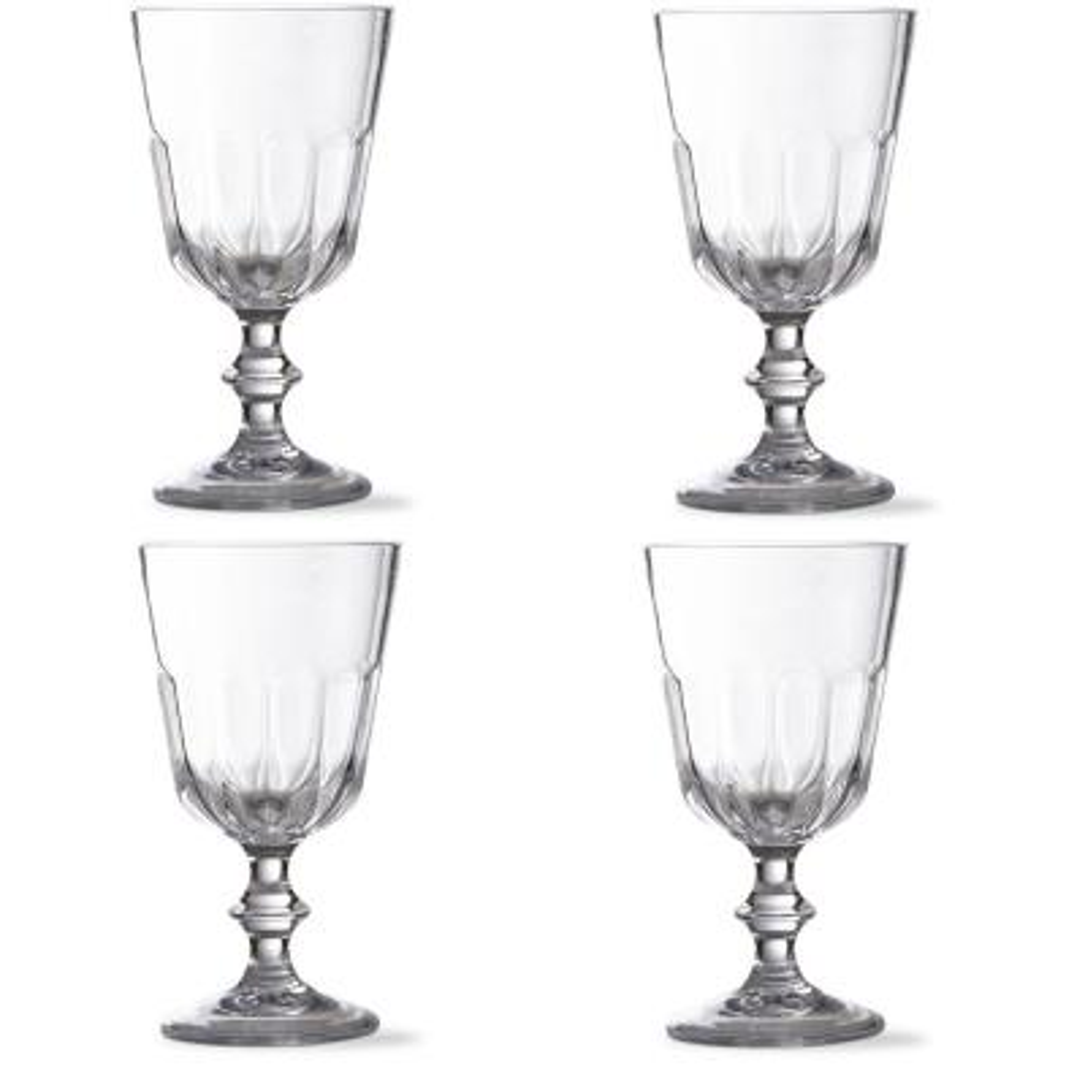 Acrylic Goblet Set (4-Pack)