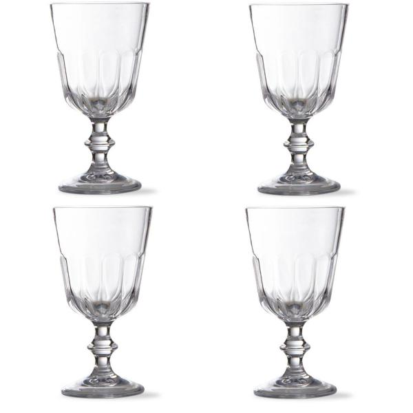 Tag Acrylic Goblet Set (4-Pack)
