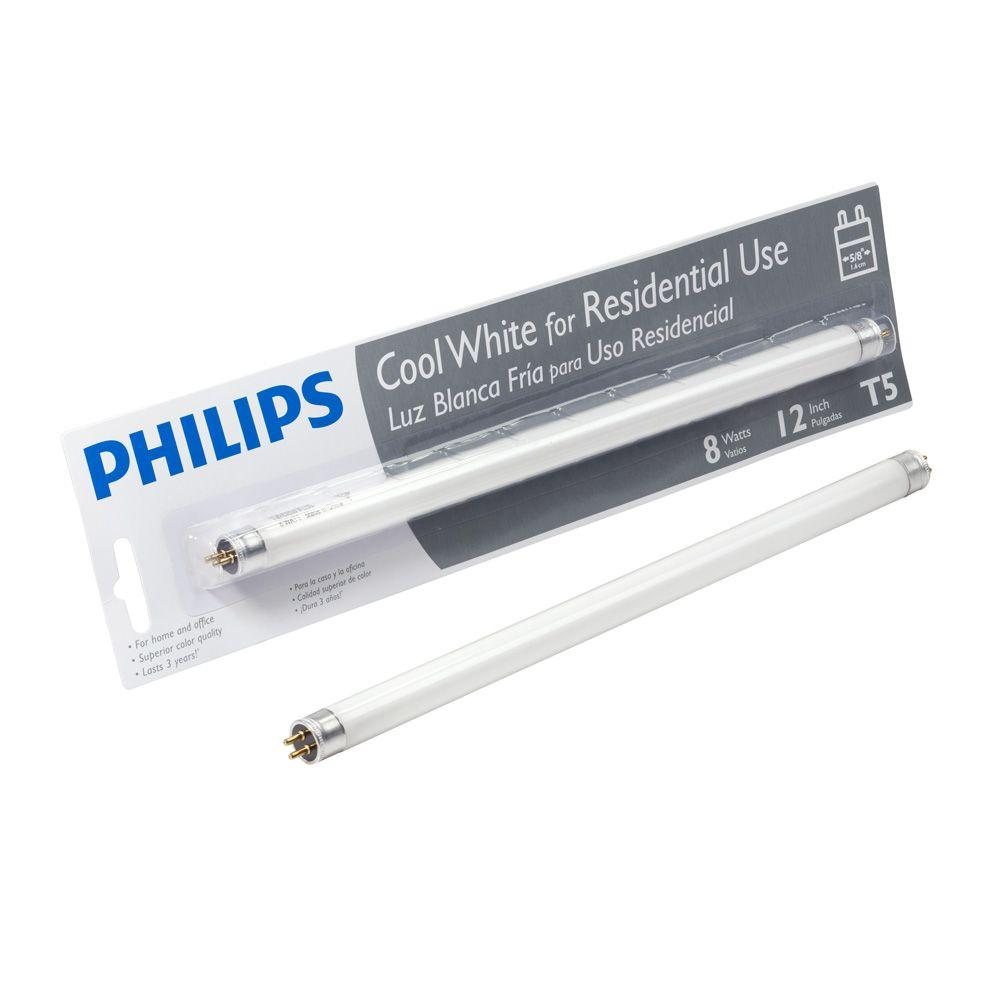 Linear T5 Fluorescent Light Bulb, Cool White (4100K