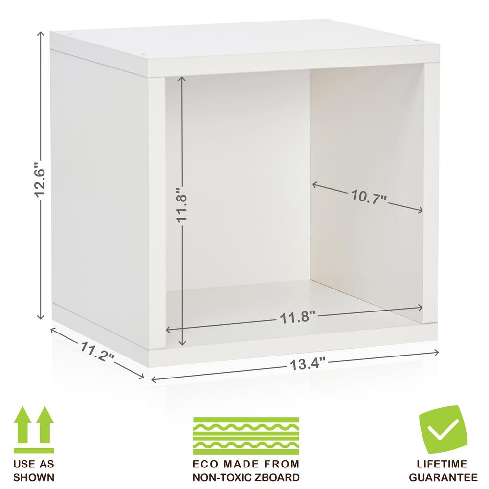 Exceptionnel Way Basics Connect System 13.4 In. X 12.6 In. ZBoard Stackable Open Storage  1