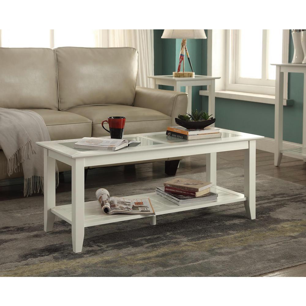 Carmel White Coffee Table