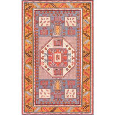 Tribal Marnie Rust 8 ft. 6 in. x 11 ft. 6 in. Area Rug