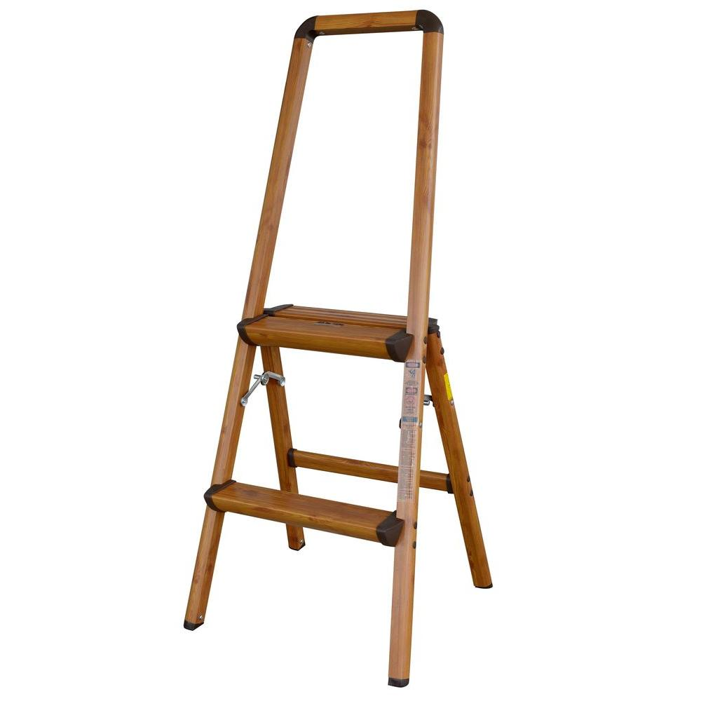 4 Step Steel Skinny Mini Step Stool Ladder With Project