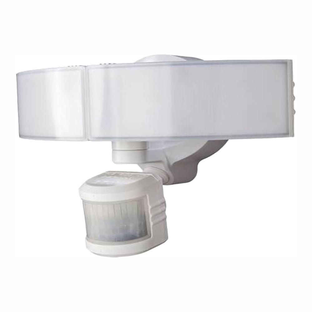 Defiant 270 Degree White Led Bluetooth Motion Outdoor Security Light