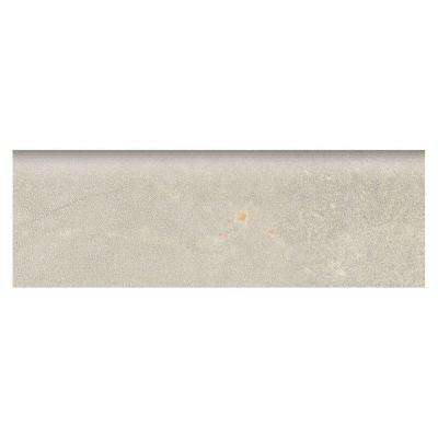 Developed by Nature Pebble 2 in. x 6 in. Glazed Ceramic Wall Bullnose Tile