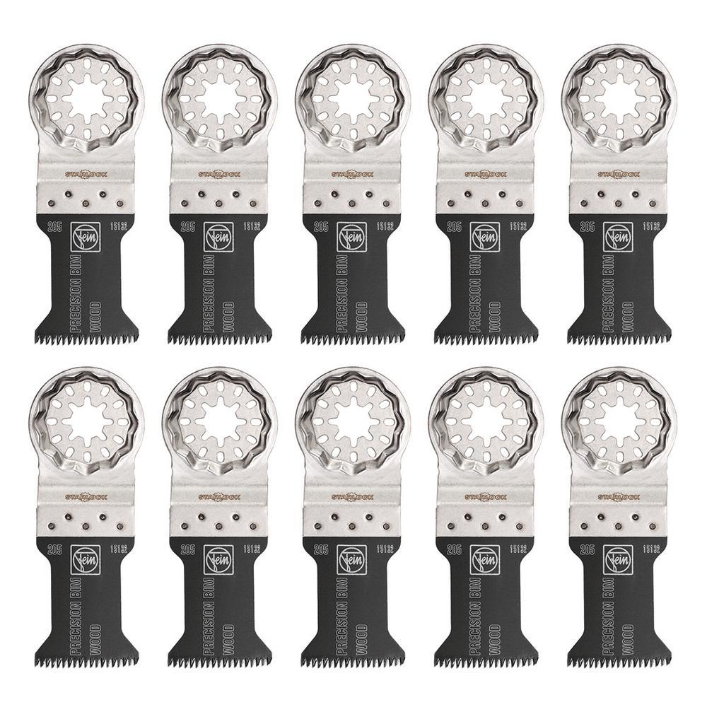1-3/8 in. E-Cut Precision BIM Saw Blade Starlock (10-Pack)
