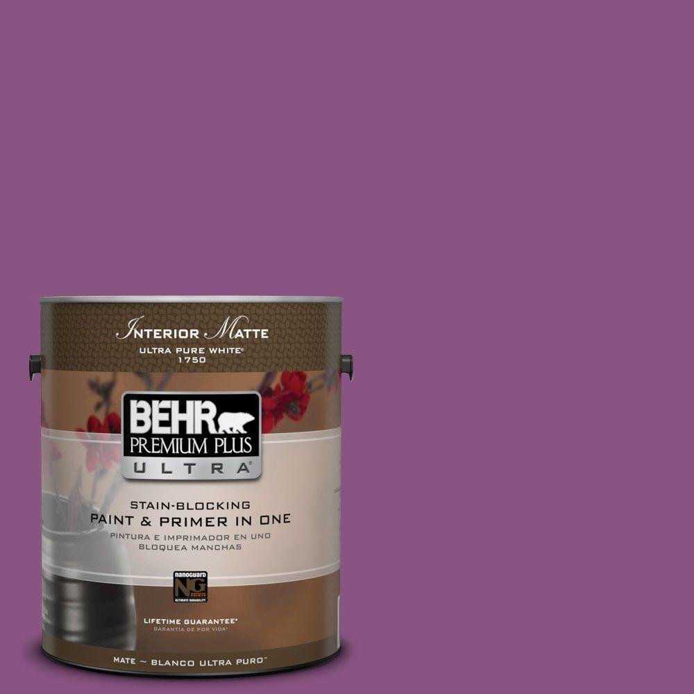 Home Decorators Collection 1 Gal. #HDC MD 07 Dynamic Magenta Matte Interior
