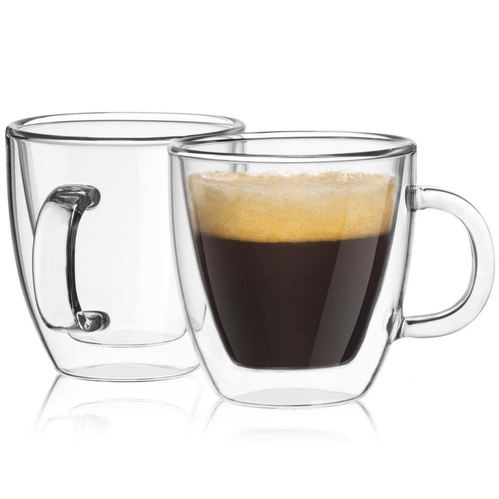Savor 5.4 oz. Double Wall Espresso Glasses (Set of 4)