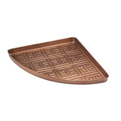 Athens Multi-Purpose Shoe Tray for Boots, Shoes, Plants, Pet Bowls and More in Copper