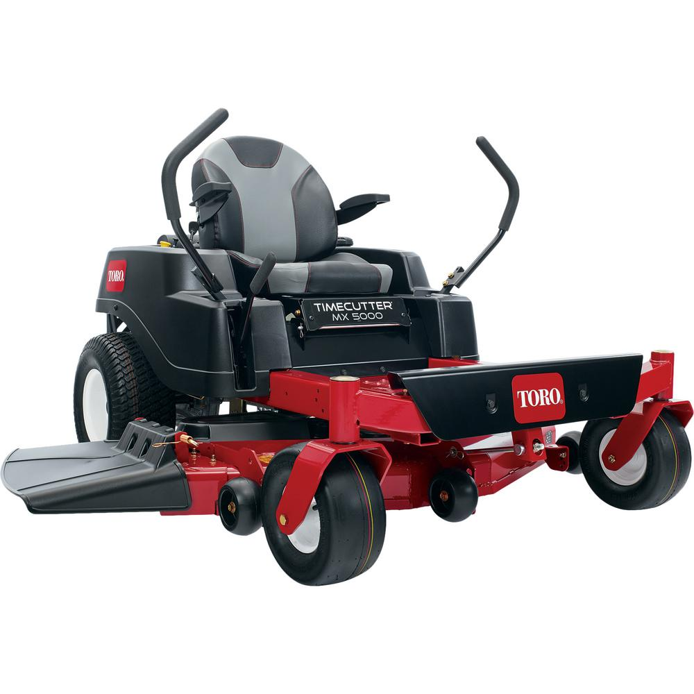 Toro TimeCutter MX5000 50 in  Fabricated Deck 24-HP Kohler Commercial  V-Twin Gas Dual Hydrostatic Zero Turn Riding Mower