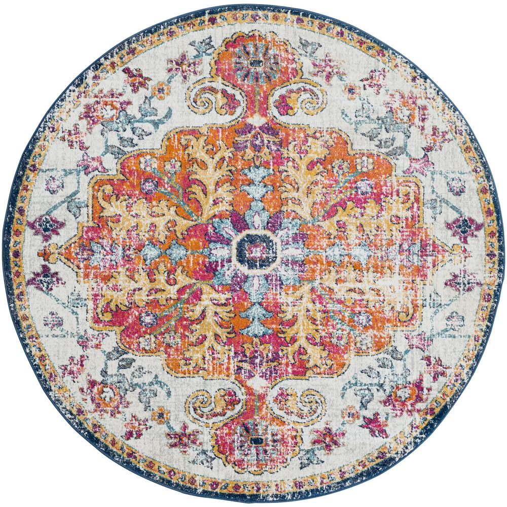 Artistic Weavers Demeter Ivory 5 ft. 3 in. Round Area Rug was $150.01 now $74.74 (50.0% off)